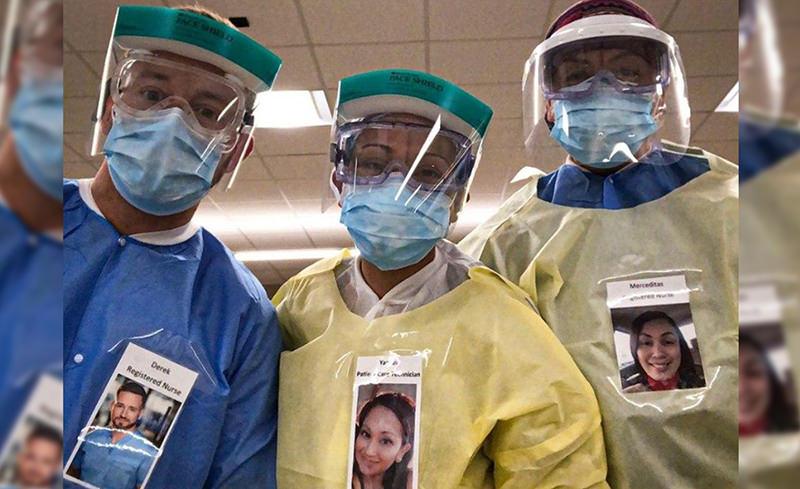 В США врачи придумали способ не пугать коронавирусных больных костюмами химзащиты