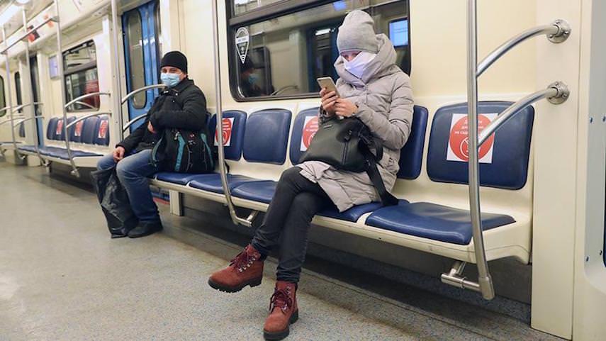 В Москве начнут штрафовать на пять тысяч рублей за несоблюдение дистанции в общественном транспорте
