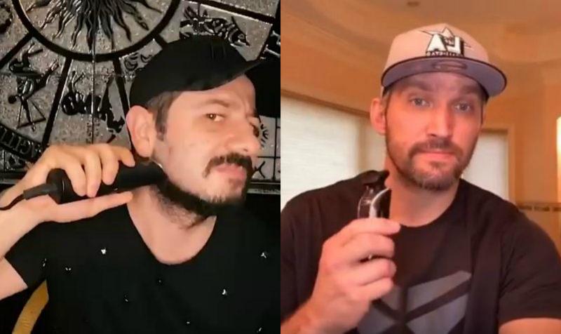 Когда дома скучно: Александр Овечкин сбрил бороду вслед за Галустяном