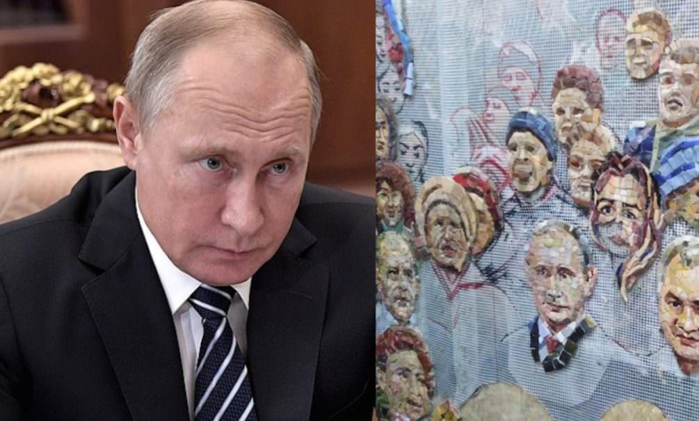 Путин высказался о мозаике со своим изображением в храме Минобороны