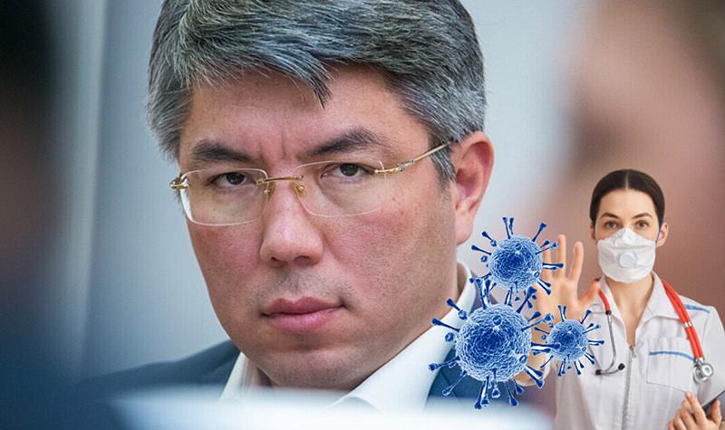"""""""Такой подарочек подкинули медики"""": глава Бурятии обвинил медперсонал во вспышек коронавируса"""