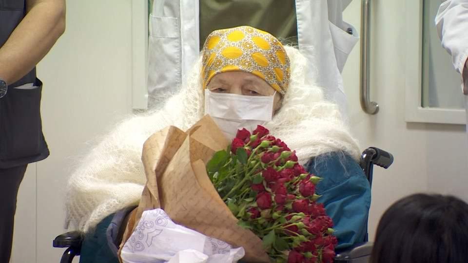 В Москве от коронавируса вылечилась столетняя пациентка