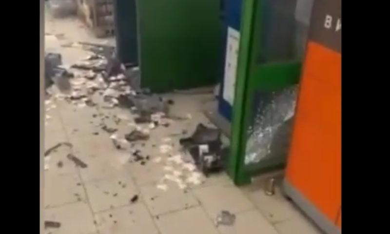 В подмосковных Химках  взорвали банкомат Сбербанка