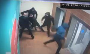 Задержание участников перестрелки на юге Москвы попало на видео