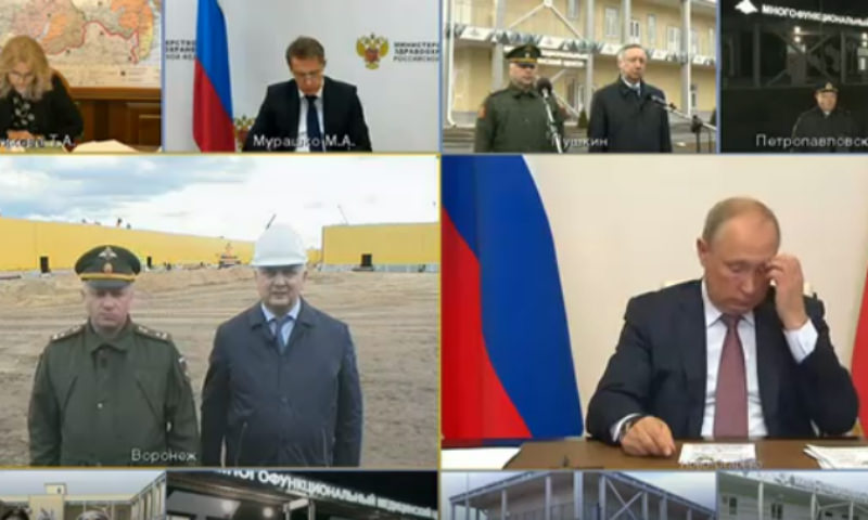 Воронежский губернатор снова в 10 раз обсчитался перед Путиным