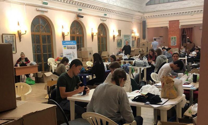 Подпольные цеха в муниципальных дворцах культуры: как производят маски в Волгоградской области