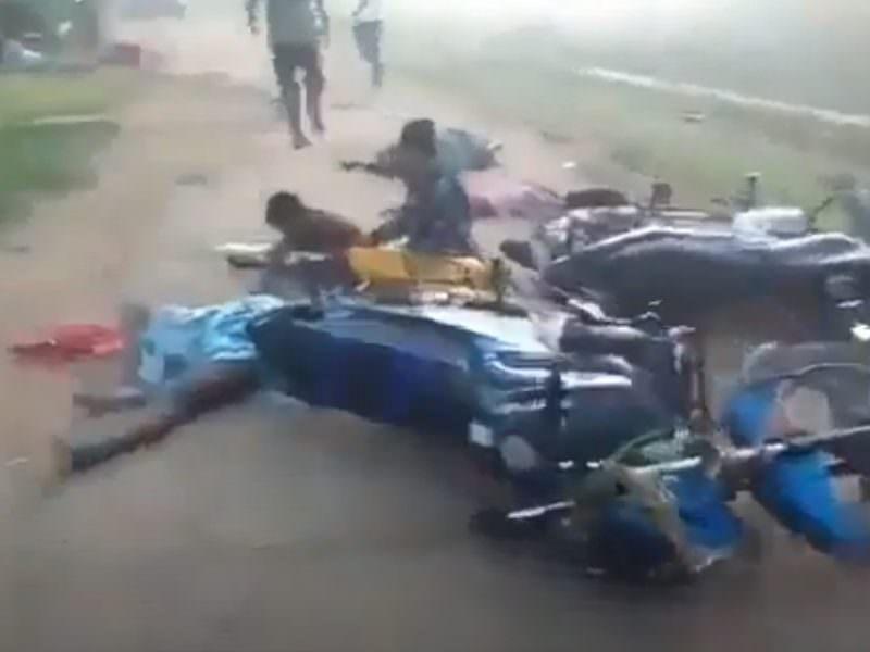 Отравившиеся газом жители Индии десятками падают на улицах