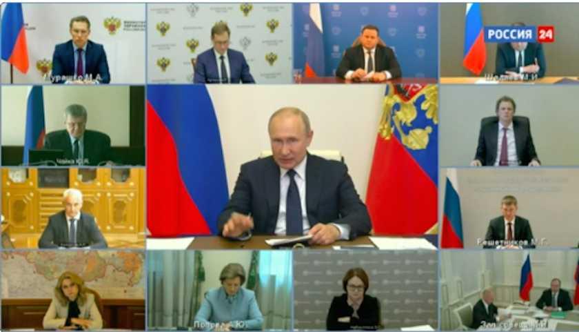 Путин раскритиковал Минздрав из-за срыва выплат медикам