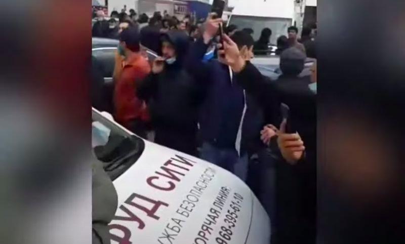 В Москве трудовые мигранты устроили бунт