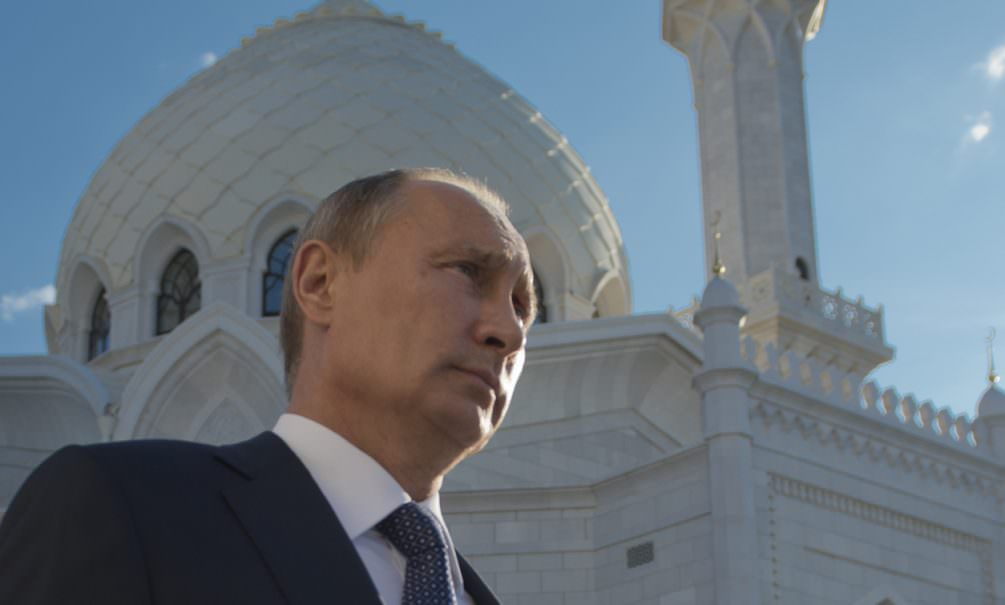 Путин поздравил российских мусульман с Ураза-байрам