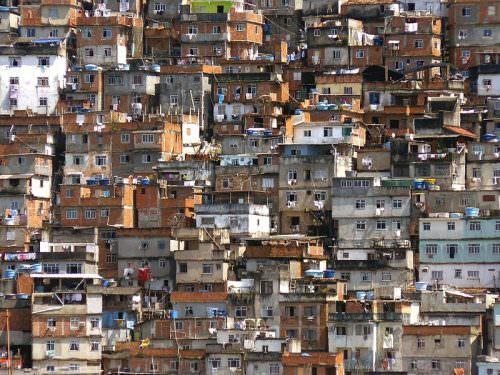 Фавеллы в Рио-де-Жанейро