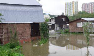 Дома затоплены, смыты огороды: жители Подмосковья пожаловались на бездействие властей после потопа