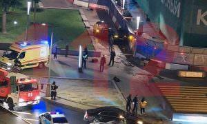 Топ-менеджер российской авиакомпании разбил машину Джеймса Бонда в центре Москвы