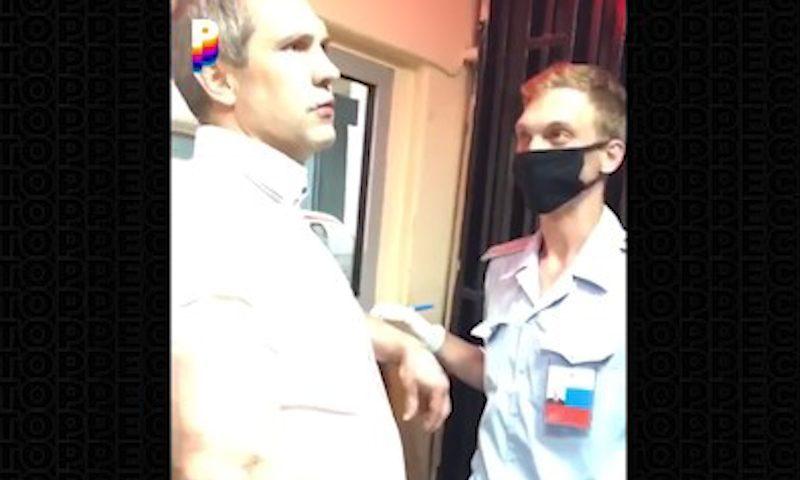 """""""Загугли кто я такой"""": замначальника Генрокуратуры задержали за езду в пьяном виде"""