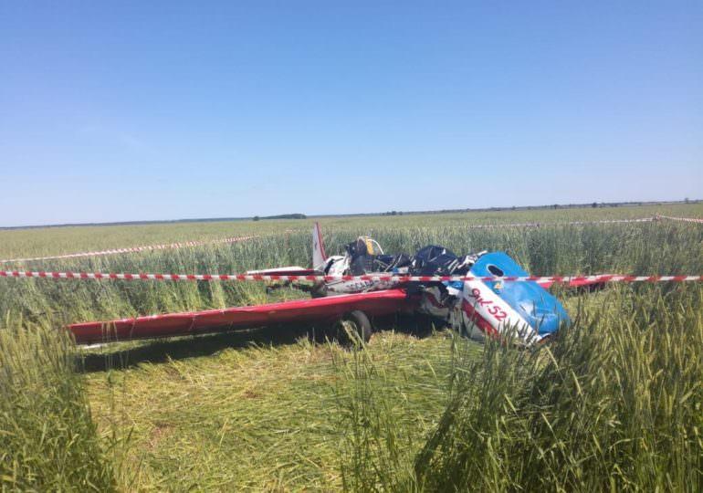 В Самарской области разбился Як-52, два пилота погибли