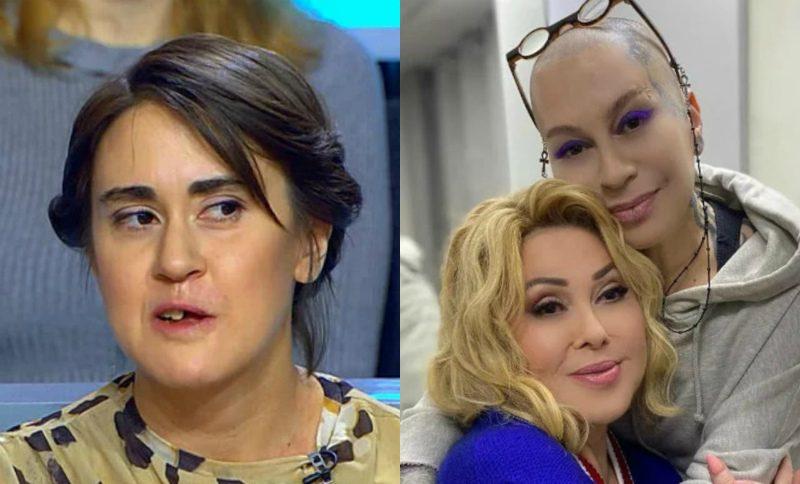 «Отстань от моей мамы, змея!»: дочь Успенской набросилась на Наргиз Закирову