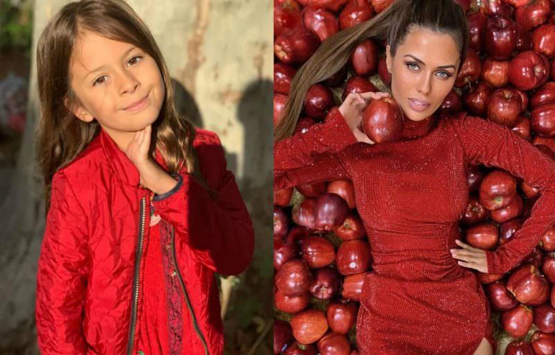 Виктория Боня пожаловалась, что экс-бойфренд лишил их дочь хлеба, мяса и конфет