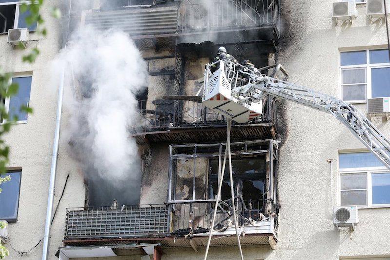 В московской пятиэтажке произошел взрыв. «Мосгаз» опровергает утечку