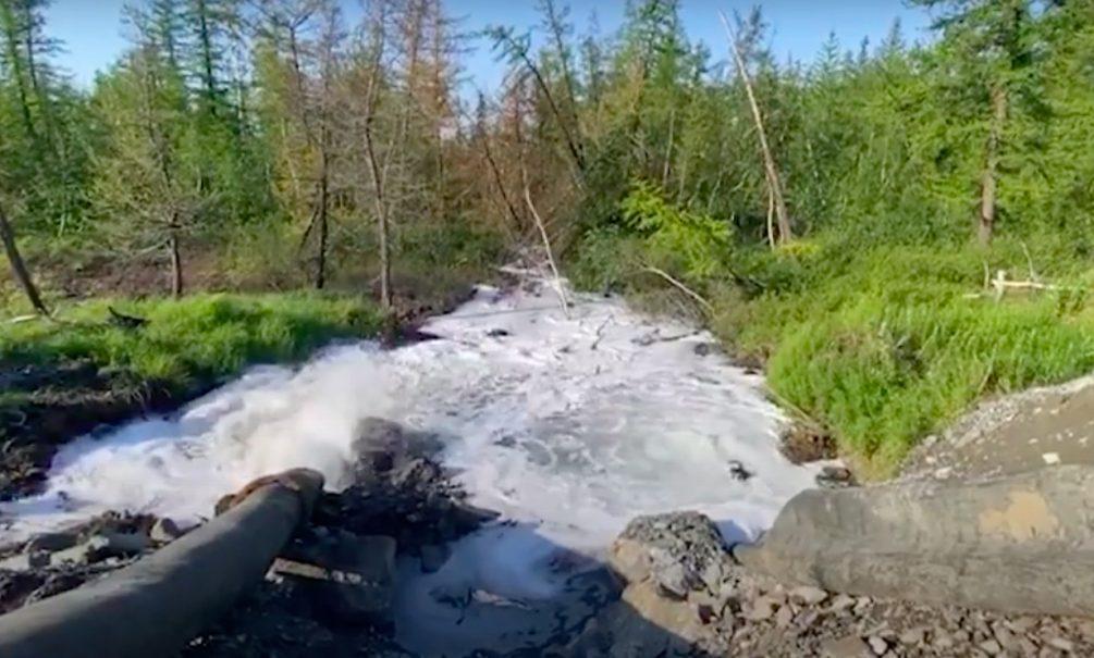 Новое экологическое ЧП в Норильске: фабрика