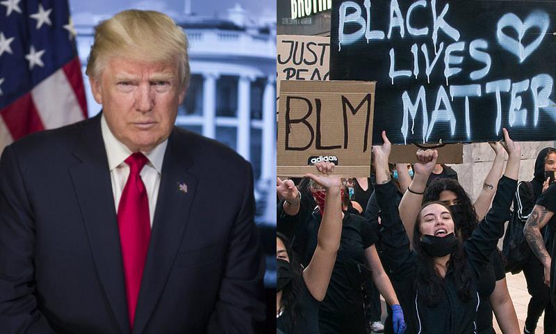 Как протесты в США скажутся на политическом будущем Трампа