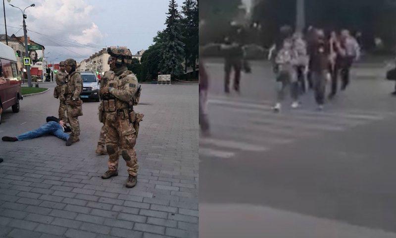 В Луцке освободили всех заложников, захваченных в автобусе