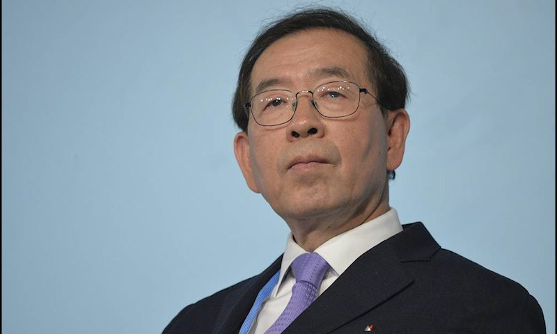 Мэр Сеула Пак Вон Сун обнаружен мертвым