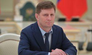 Кремль прокомментировал задержание губернатора Сергея Фургала