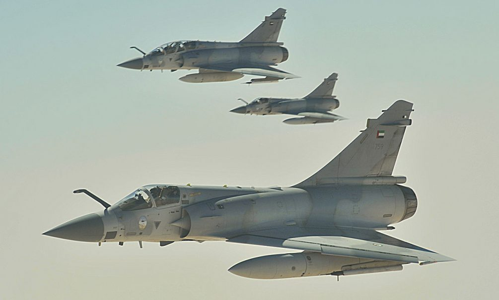 Авиабазу Аль-Ватыя атаковали Mirage 2000-9 ВВС Объединенных Эмиратов
