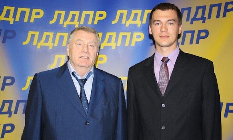 Названо имя нового главы Хабаровского края вместо Фургала