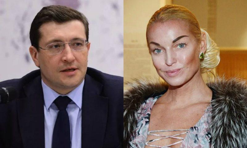 «Устроил дешевое кино»: Волочкова объявила войну нижегородскому губернатору