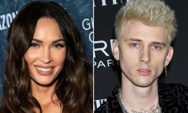 «Мы две половинки одной души»: Меган Фокс собралась замуж за рэпера Machine Gun Kelly