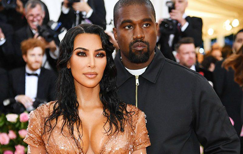 Увлеклась другим рэпером: Канье Уэст хочет развестись с Ким Кардашьян