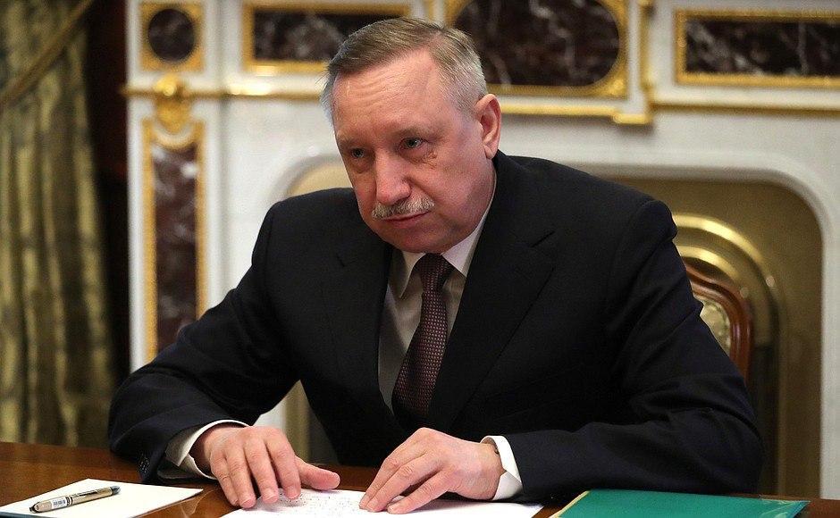 В Петербурге освистали губернатора Беглова, явившегося поздравлять