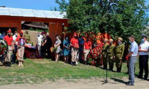 Зверски убитого грабителями ветерана Великой Отечественной войны похоронили в его родном селе, в Башкирии