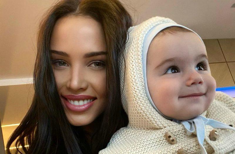 Анастасия Решетова увезла 9-месячного сына Тимати за границу