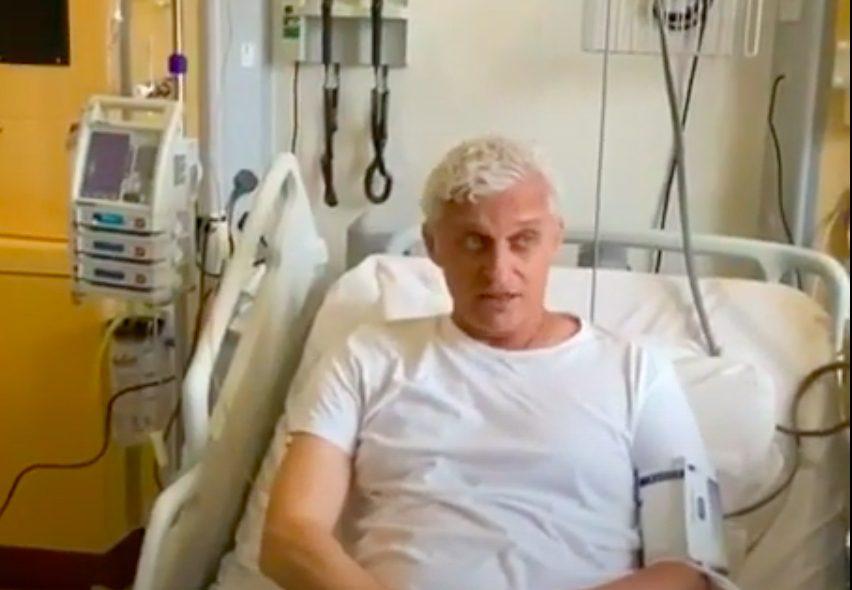 «Череп не разрезают»: Олег Тиньков показал, как ему делают пересадку костного мозга