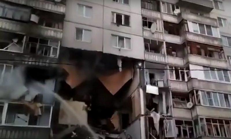 Взрыв разнес три этажа ярославской многоэтажки. Основная версия — утечка газа