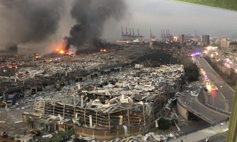 Ад на земле: «вакуумный» взрыв в порту Бейрута напомнил Хиросиму