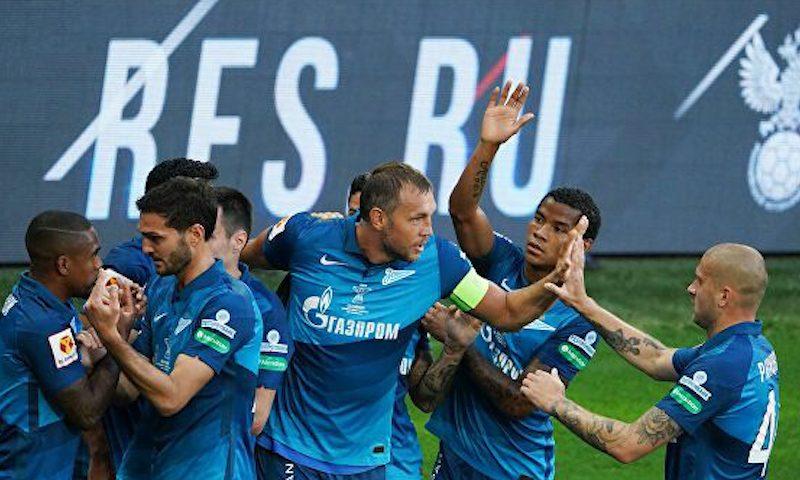 «Зенит» в пятый раз стал обладателем Суперкубка России