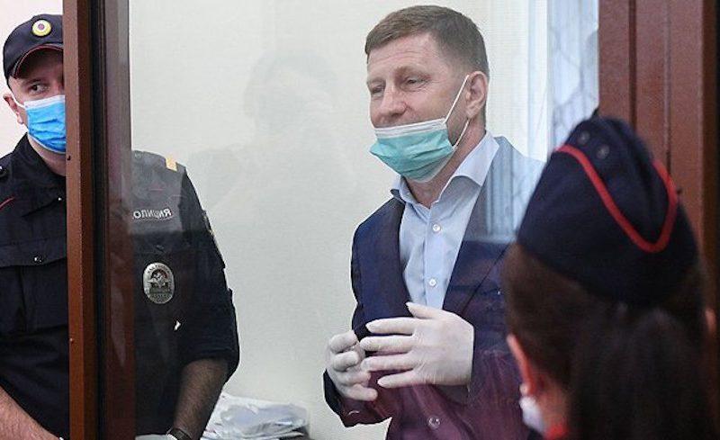 «На меня тут сильно давят!»: экс-губернатор Фургал пожаловался адвокату