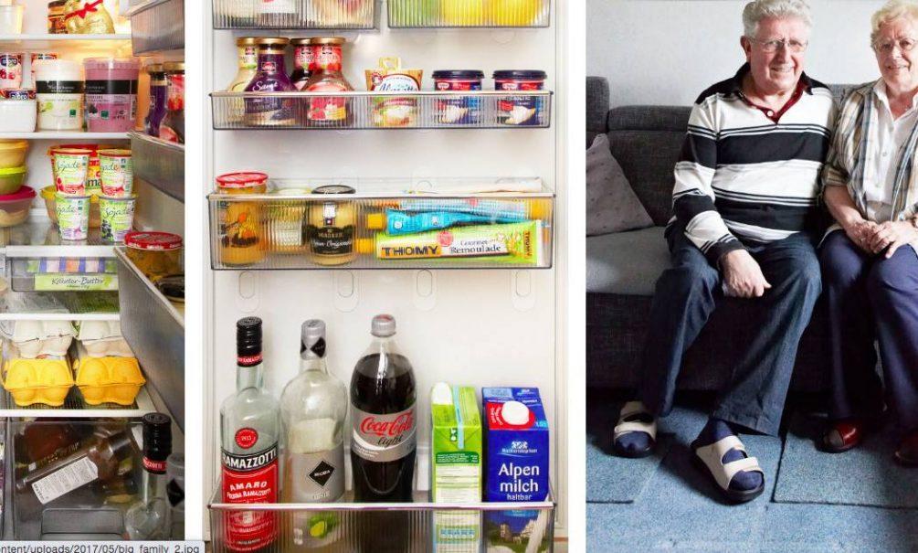 Люди из разных стран показали, что у них в холодильнике