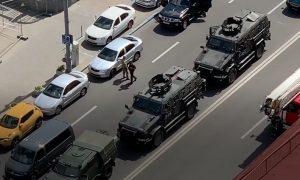 Последователь луцкого террориста захватил заложников в центре Киева