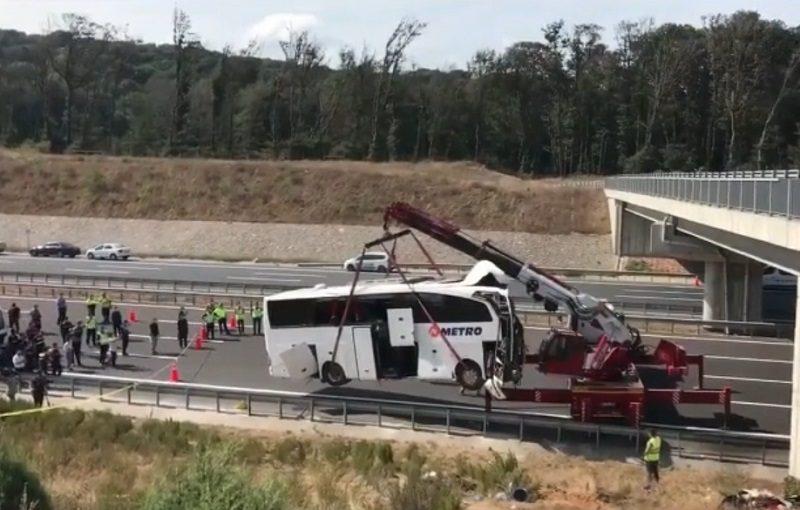 Серьезное ДТП с междугородным автобусом в Турции унесло жизни пяти человек, ранены дети