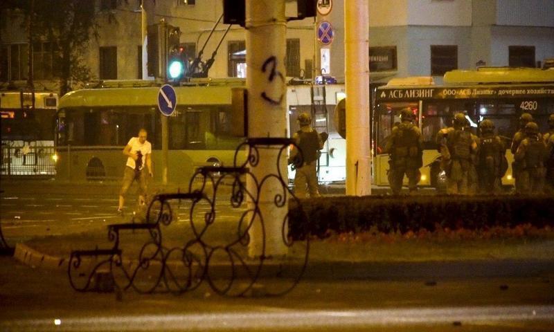 Опубликовано видео убийства демонстранта в Минске. Вчера состоялись его похороны