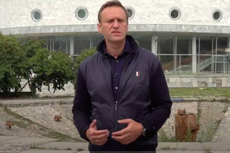 Команда Навального опубликовала фильм, ради которого он отправился в Сибирь