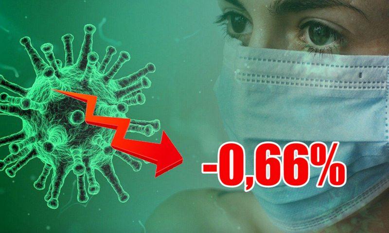 Динамика коронавируса на 13 августа