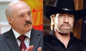 «Саша ноль процентов»:  Чак Норрис обратился к Лукашенко и пообещал заставить его плакать