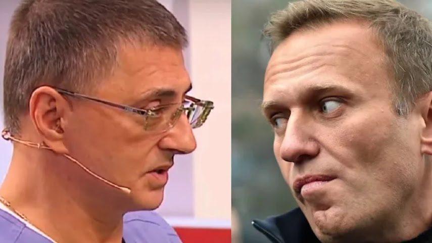 «Меня смутили стоны его»: доктор Мясников предположил, что могло случиться с Навальным