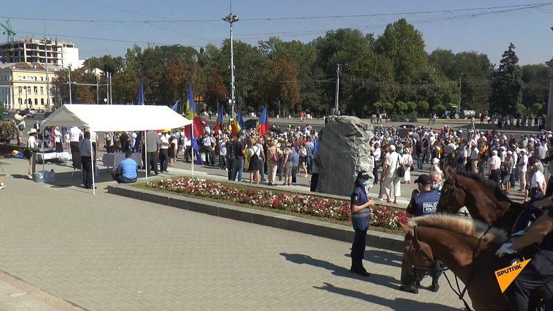 В Кишиневе в преддверии ноября обкатывают минский протестный сценарий