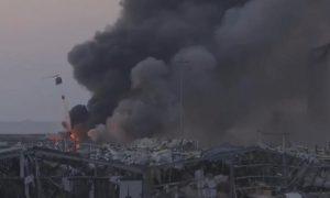 Президент Ливана оценил ущерб от взрыва в порту Бейрута примерно в 15 миллиардов долларов